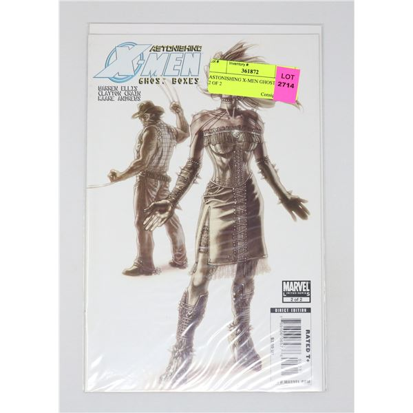 ASTONISHING X-MEN GHOST BOXES 2 OF 2