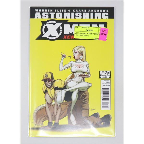 ASTONISHING X-MEN XENOGENESIS 3 OF 5 KEY ISSUE