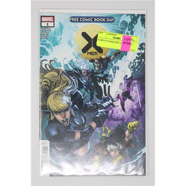 X-MEN #1 RARE FREE COMIC DAY