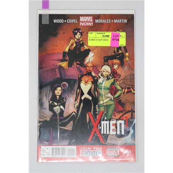 X-MEN #1 KEY ISSUE