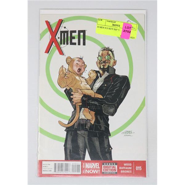 X-MEN #15 KEY ISSUE