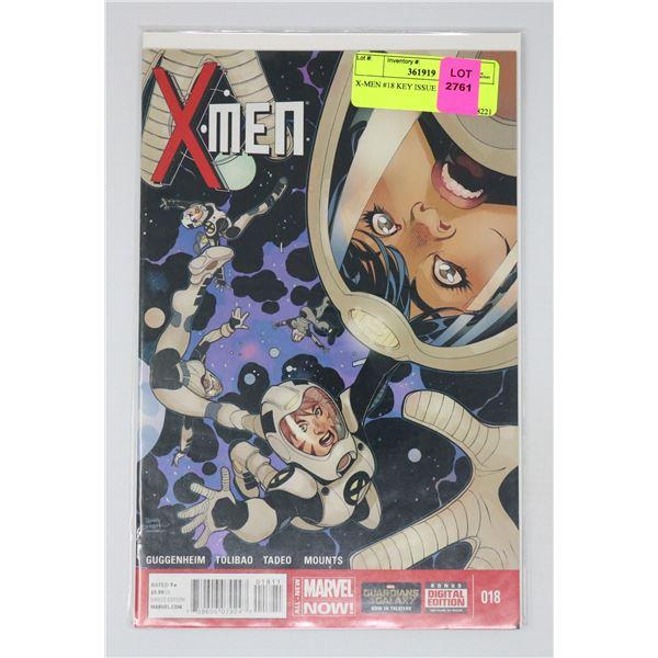 X-MEN #18 KEY ISSUE