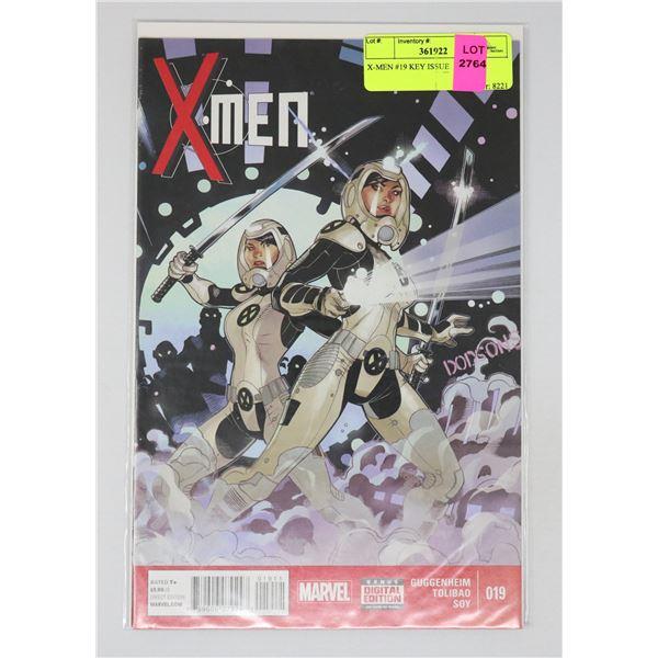 X-MEN #19 KEY ISSUE