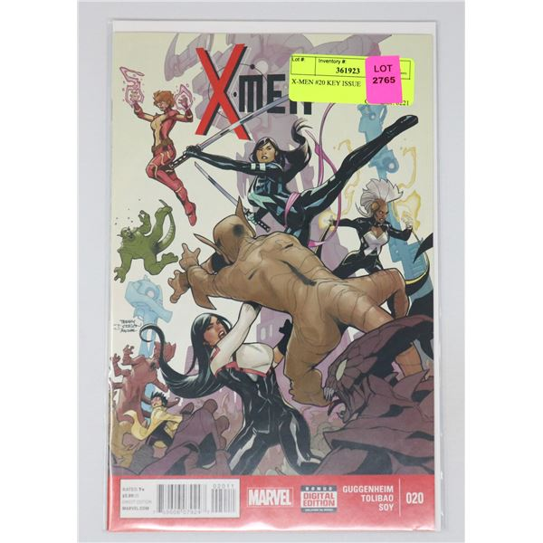 X-MEN #20 KEY ISSUE