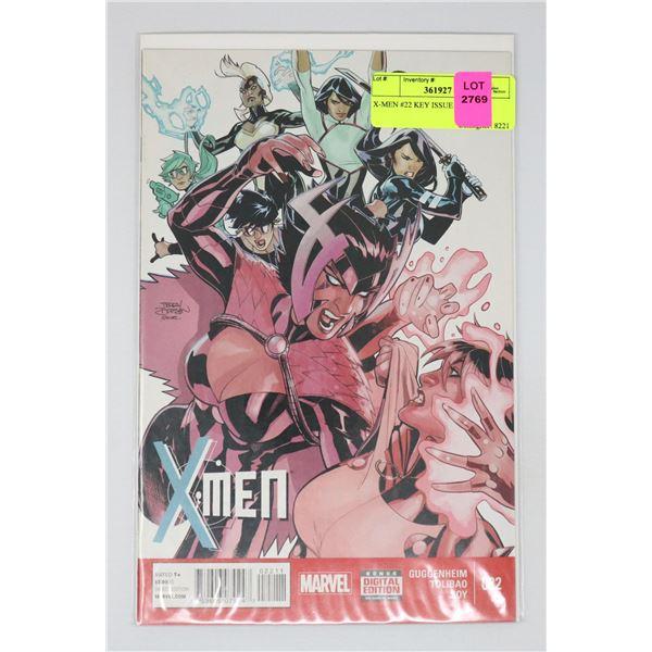 X-MEN #22 KEY ISSUE