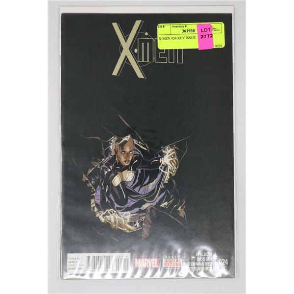 X-MEN #24 KEY ISSUE