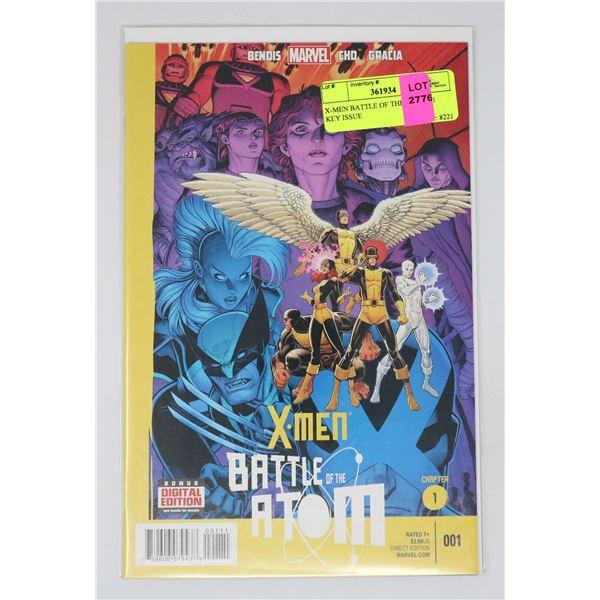 X-MEN BATTLE OF THE ATOM #1 KEY ISSUE