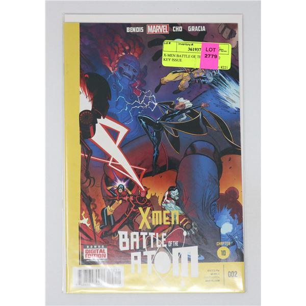 X-MEN BATTLE OF THE ATOM #2 KEY ISSUE