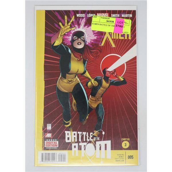 X-MEN BATTLE OF THE ATOM #3