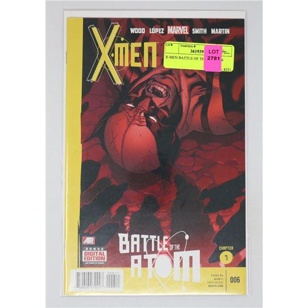X-MEN BATTLE OF THE ATOM #6