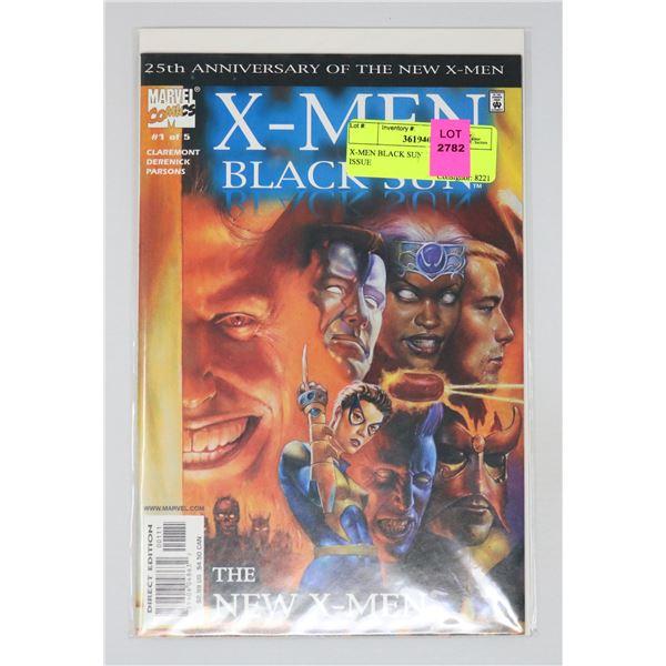 X-MEN BLACK SUN #1 OF 5 KEY ISSUE