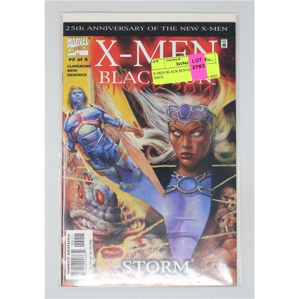 X-MEN BLACK SUN #2 OF 5 KEY ISSUE