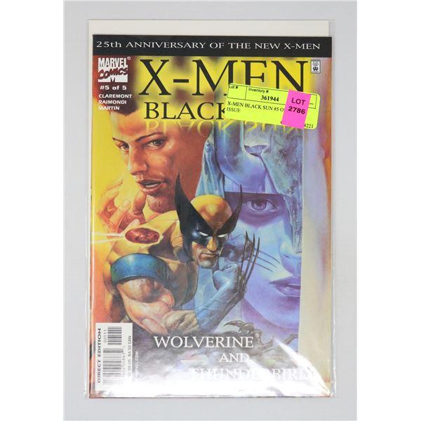 X-MEN BLACK SUN #5 OF 5 KEY ISSUE