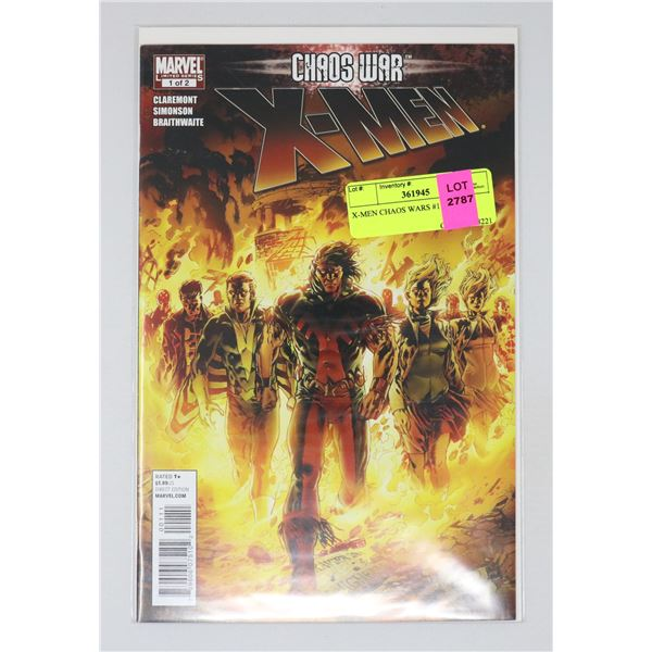 X-MEN CHAOS WARS #1 OF 2