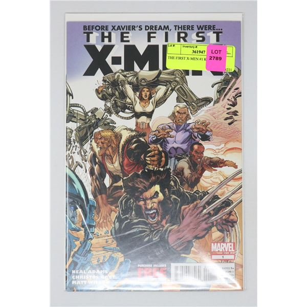 THE FIRST X-MEN #1 KEY ISSUE
