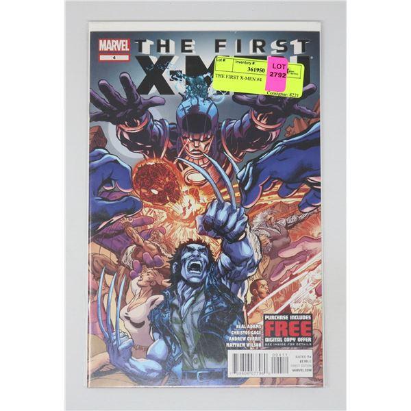 THE FIRST X-MEN #4