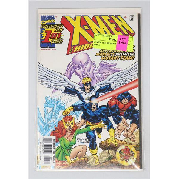 X-MEN THE HIDDEN YEARS #1 KEY ISSUE