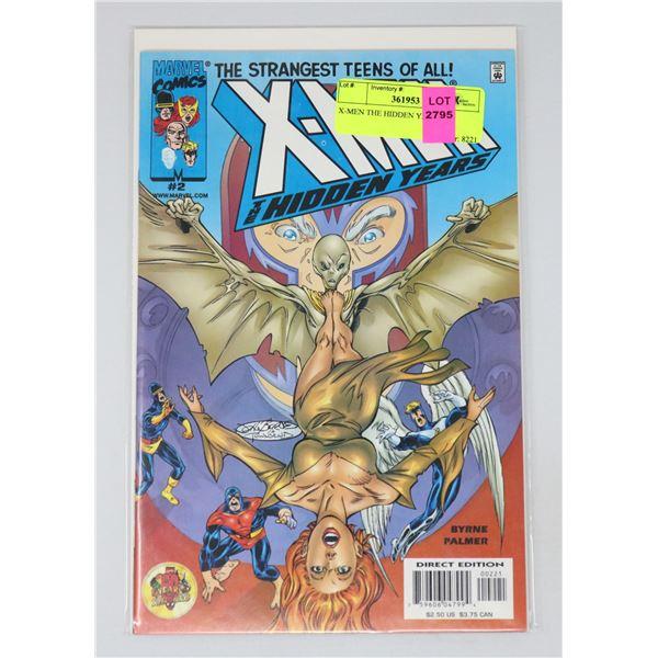 X-MEN THE HIDDEN YEARS #2