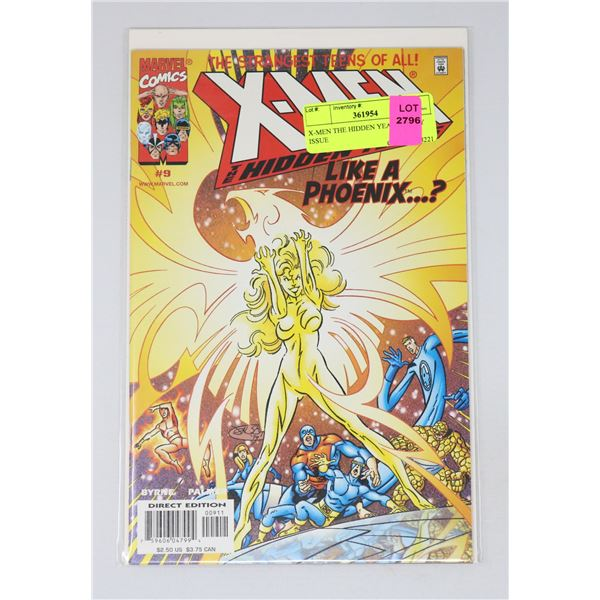 X-MEN THE HIDDEN YEARS #9 KEY ISSUE