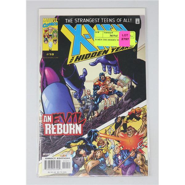 X-MEN THE HIDDEN YEARS #10