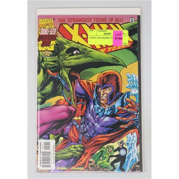 X-MEN THE HIDDEN YEARS #12