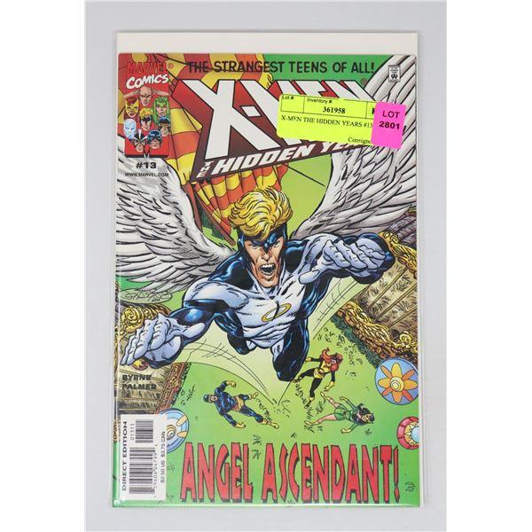 X-MEN THE HIDDEN YEARS #13