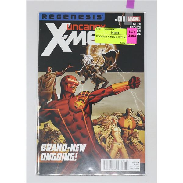UNCANNY X-MEN #1 KEY ISSUE