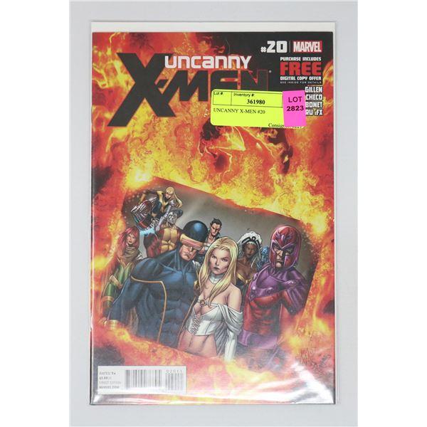 UNCANNY X-MEN #20