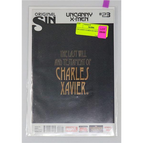 UNCANNY X-MEN #23 KEY ISSUE