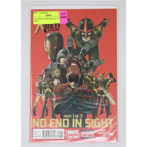 UNCANNY X-MEN SPECIAL #1 KEY ISSUE