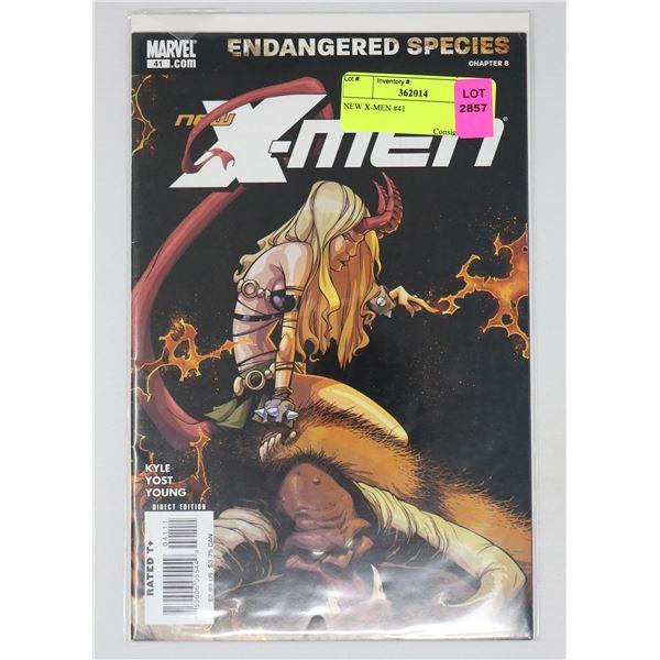 NEW X-MEN #41