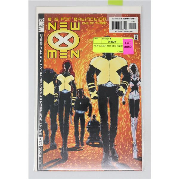 NEW X-MEN #114 KEY ISSUE