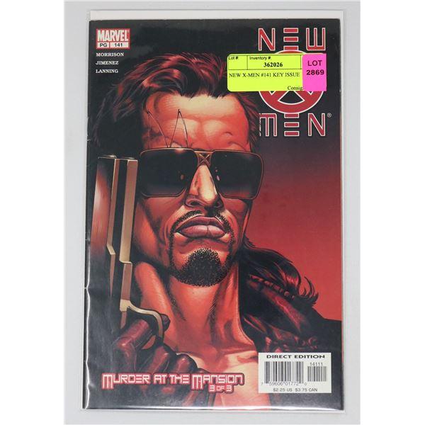 NEW X-MEN #141 KEY ISSUE