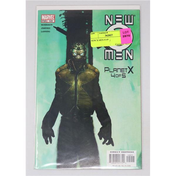 NEW X-MEN #149