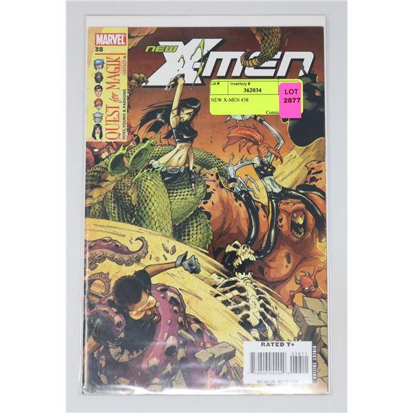 NEW X-MEN #38