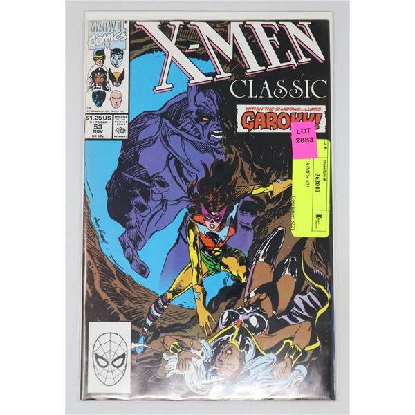 CLASSIC X-MEN #53