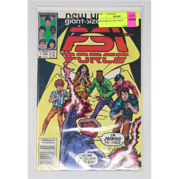 PSI FORCE #1 KEY ISSUE
