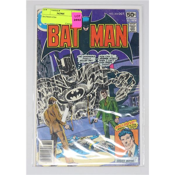 BATMAN #304