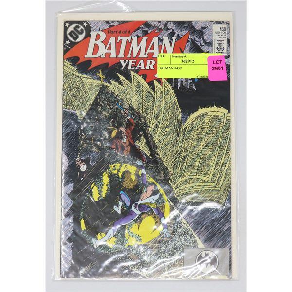 BATMAN #439