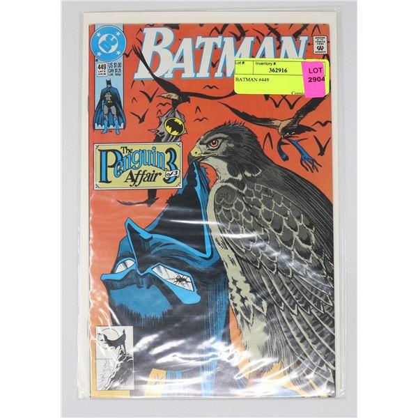 BATMAN #449