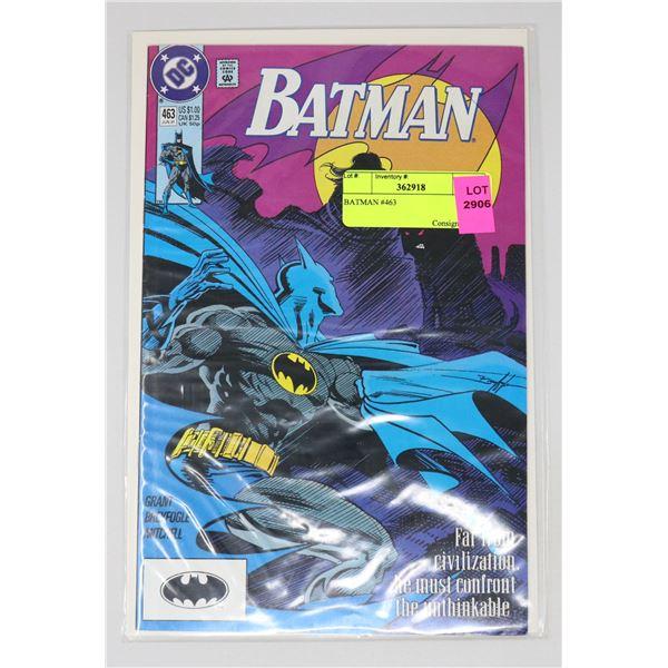 BATMAN #463