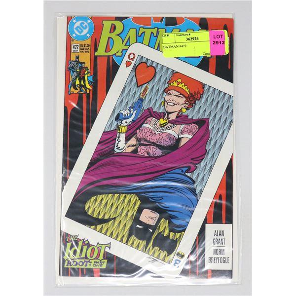 BATMAN #472