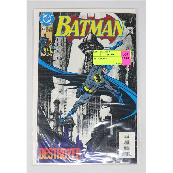 BATMAN #474