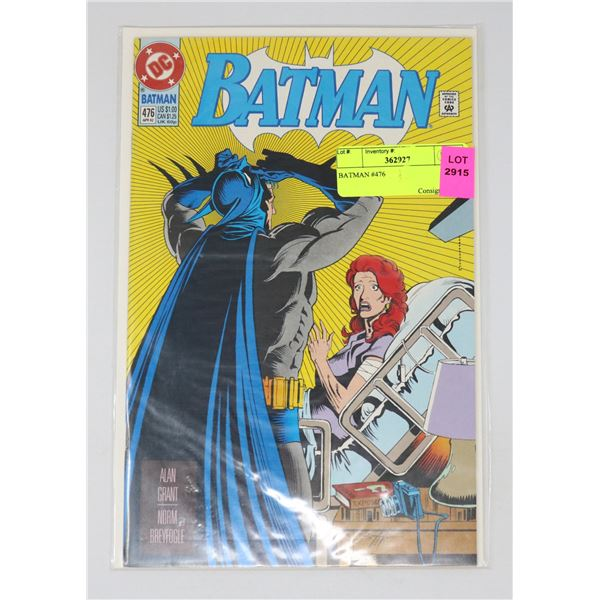 BATMAN #476