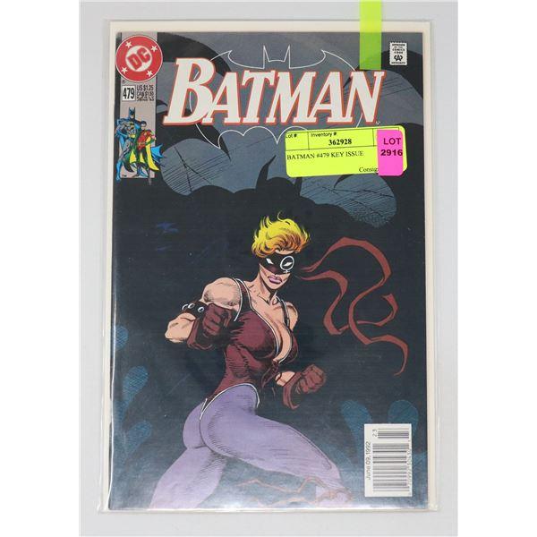 BATMAN #479 KEY ISSUE