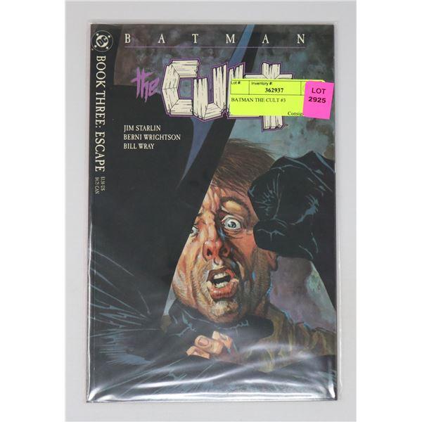 BATMAN THE CULT #3