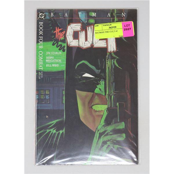 BATMAN THE CULT #4