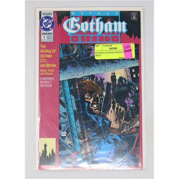 BATMAN GOTHAM NIGHTS #1 KEY ISSUE