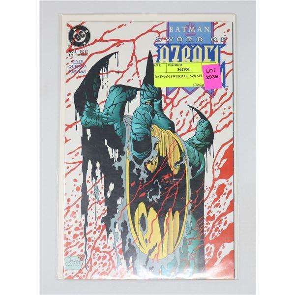 BATMAN SWORD OF AZRAEL #3