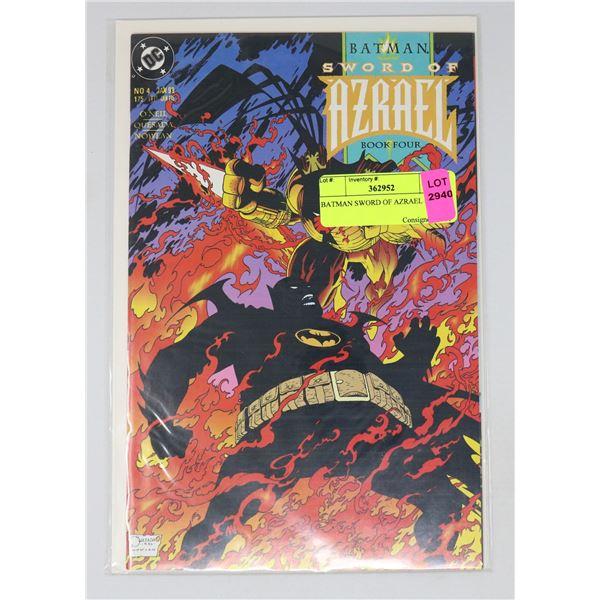 BATMAN SWORD OF AZRAEL #4